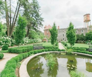 Garden at Castle & Key