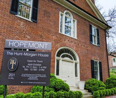 Hopemont Sign
