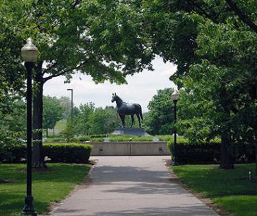 Man o War Statue
