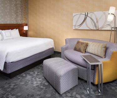 Newly Renovated Room at the Courtyard