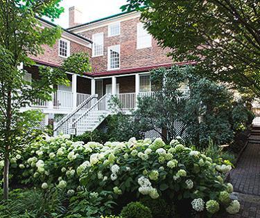 Exterior-Back gardens at MTL House