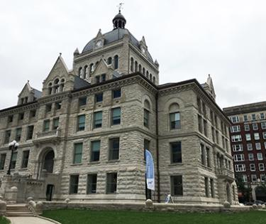 Renovated historic courthouse is now open