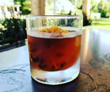 The Stave's Burnt Orange Old Fashioned