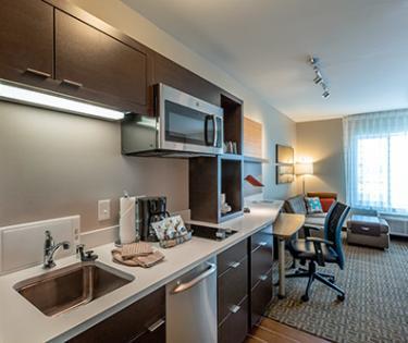 Homewood Suites Suite