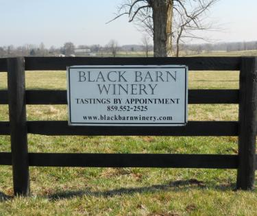 Black Barn Winery: Lexington, KY