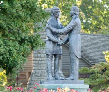 Constitution Square Statues