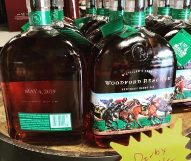 Derby Bottles at Ernie's