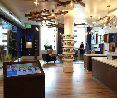 New Visitors Center on Opening Day