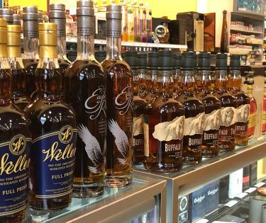 Liquor Barn Bourbons