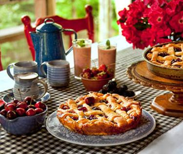 Snug Hollow breakfast