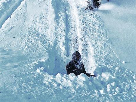 Snow in Valdez