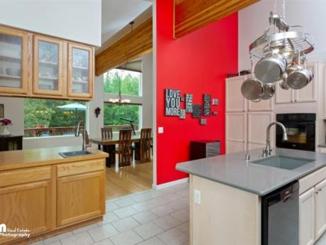 kitchen/coffee bar