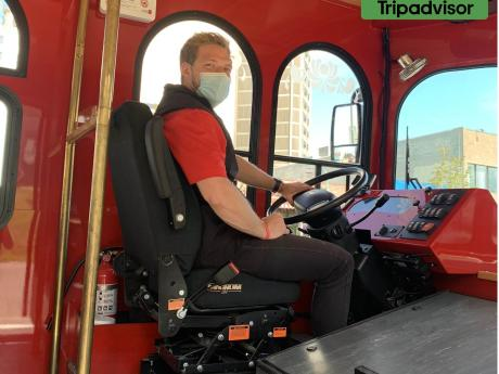 Anchorage trolley takes your safety serious