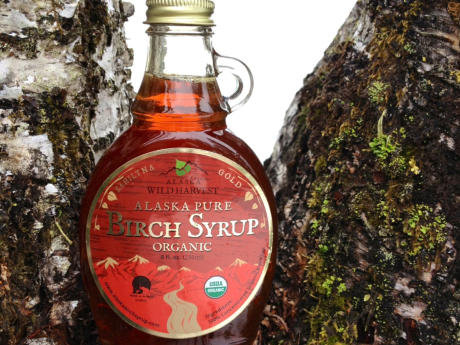 Pure Kahiltna Gold Birch Syrup