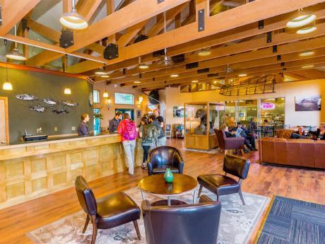 Denali Bluffs Hotel Lobby