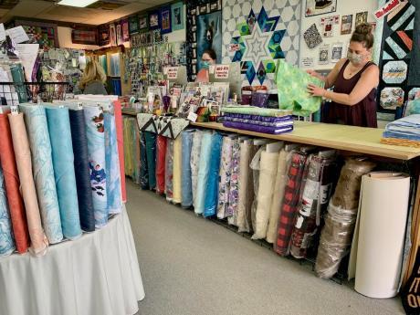 Quilt Shop front counter