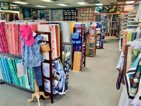 Quilt Shop-Layout