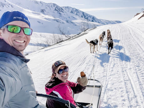 Mountain Mushing Adventure