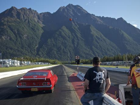 Green light at Alaska Raceway Park
