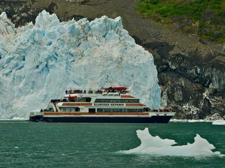 M/V Klondike Express at Surprise Glacier