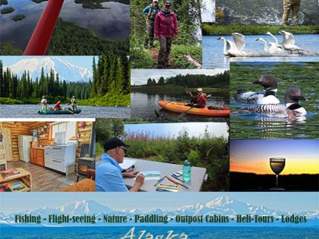 Alaska fishing lodge and adventure packages