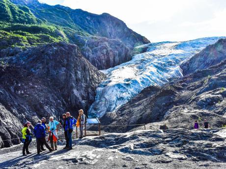 Exit Glacier Hiking in Kenai Fjords National Park