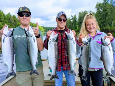 Silver Salmon 1