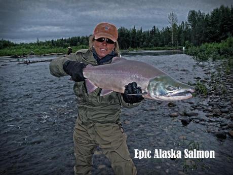 Awesome Alaska Salmon Fishing