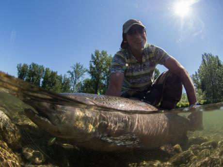 June King Salmon Fishing