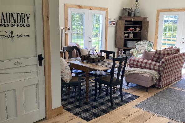 Barn House Sitting Area