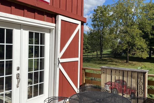 Barn House Deck