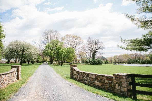 Sylvanside Farm Entrance