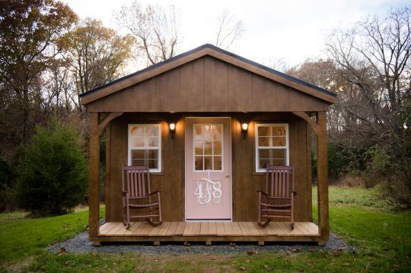 48 Fields Wedding Cottage Exterior