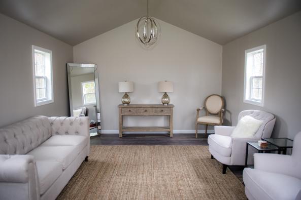 48 Fields Wedding Cottage Interior