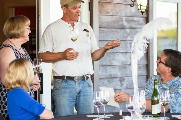 Owner/Winegrower Ben Renshaw