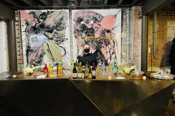 Kevin's Catering bar Image
