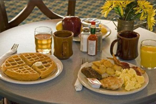 Free Hot Breakfast Buffet at Best Western Leesburg