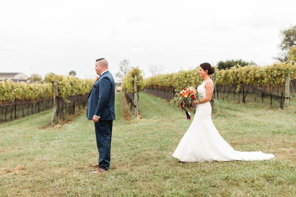 First Look-Wedding