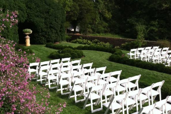 Boxwood Garden Ceremony