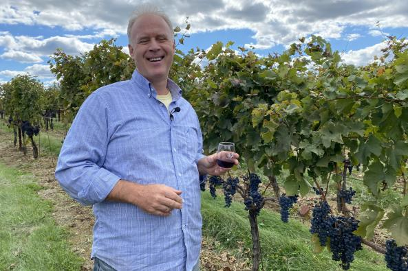 Winemaker Carl DiManno