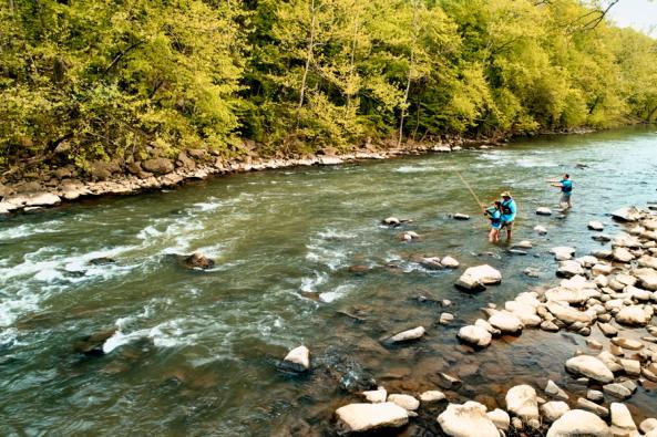 Water Adventures at Lansdowne Fishing Image