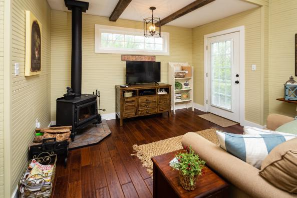 Powell's Studio interior