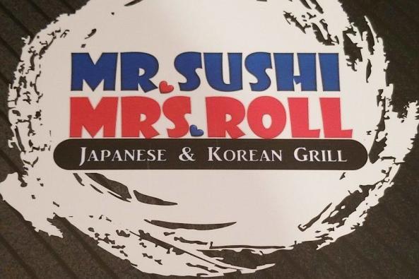 Mr. Sushi & Mrs. Roll Logo