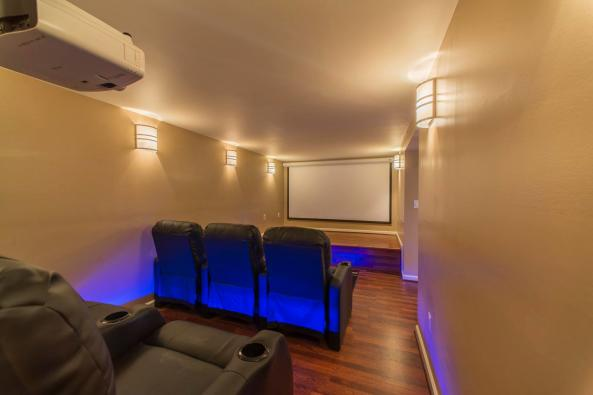 THEATER ROOM AT THE MANOR