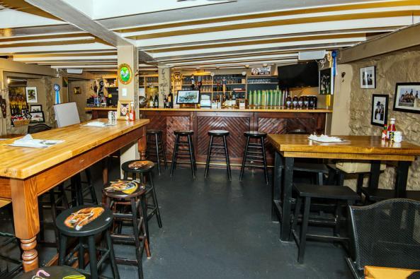 Side Saddle Cafe interior
