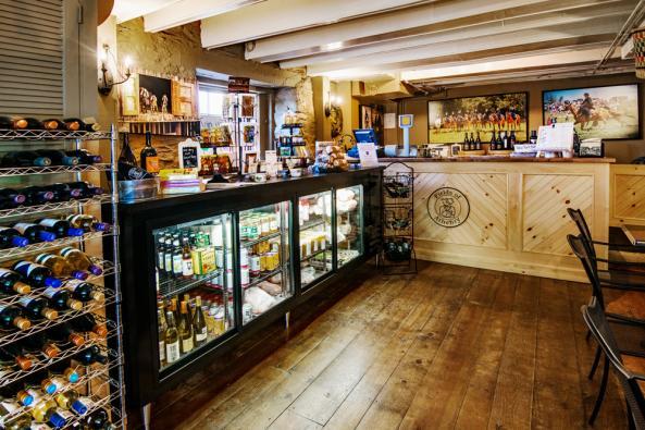 Side Saddle Cafe interior 2