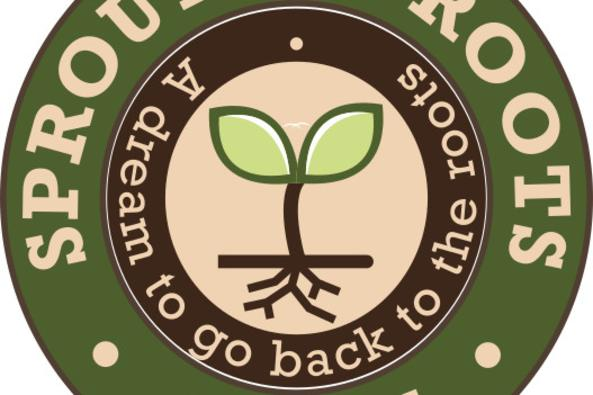 Sprouting Roots Farm logo