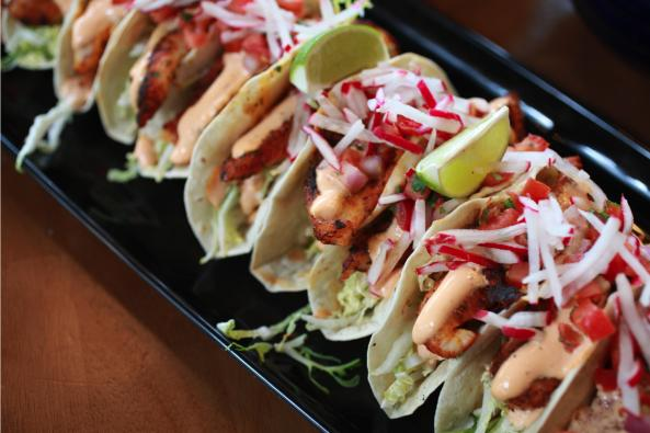 Ford's Wicked Catering - Fish Tacos