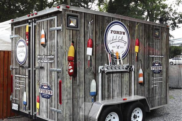 Mobile Bar - Ford's On Wheels