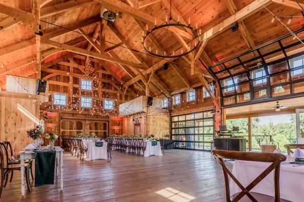 Inside Barn HDR